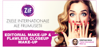 Masterclass Editorial Make-Up Flawless Close up Make-Up ZIF 2018