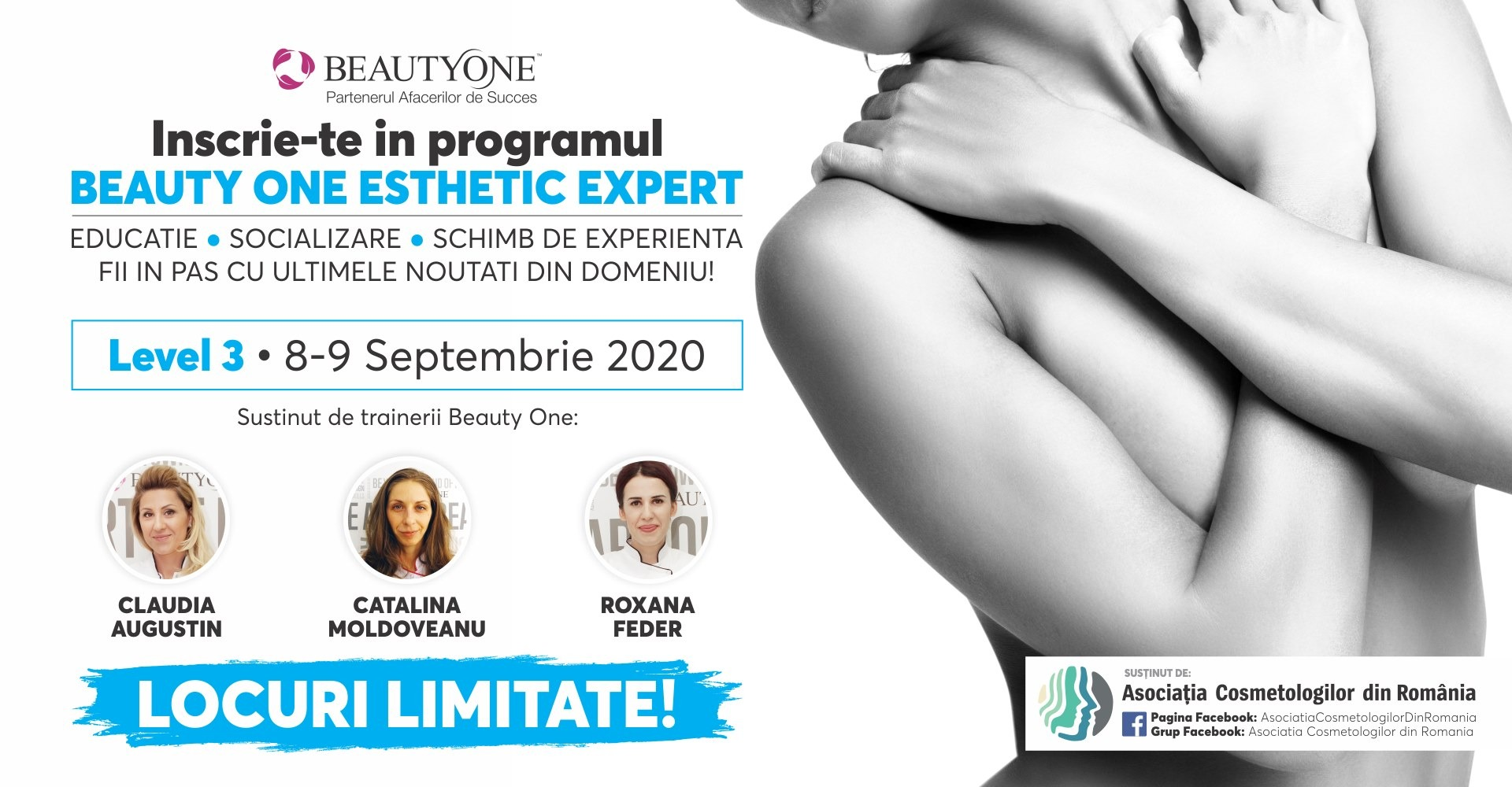 Beauty Expert - Level 3 stabilit pe 8-9 septembrie 2020
